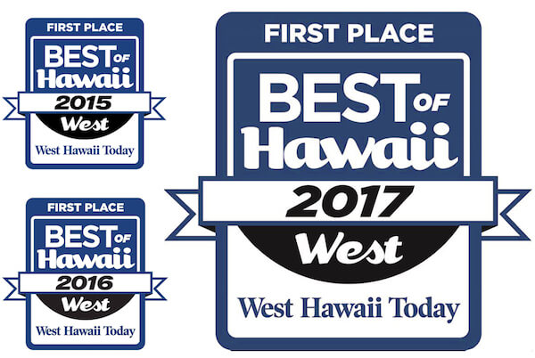 Best of West Hawaii 2017 - First Place