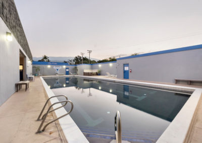Competition-sized Heated Lap Pool