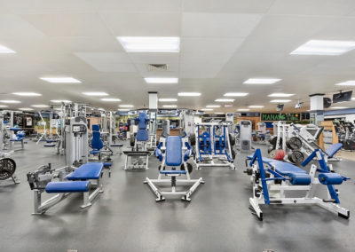 Weight Room at The Club