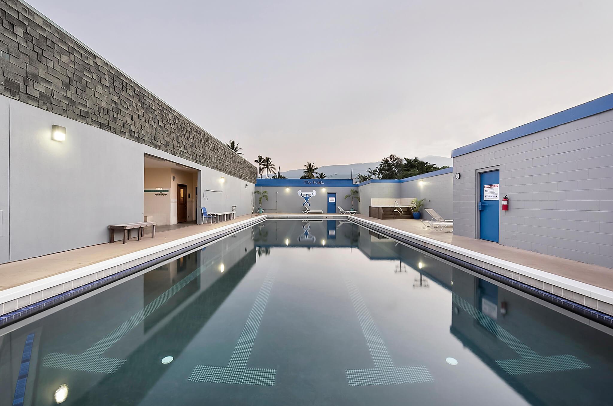 The Club Kona Fitness Center Pool