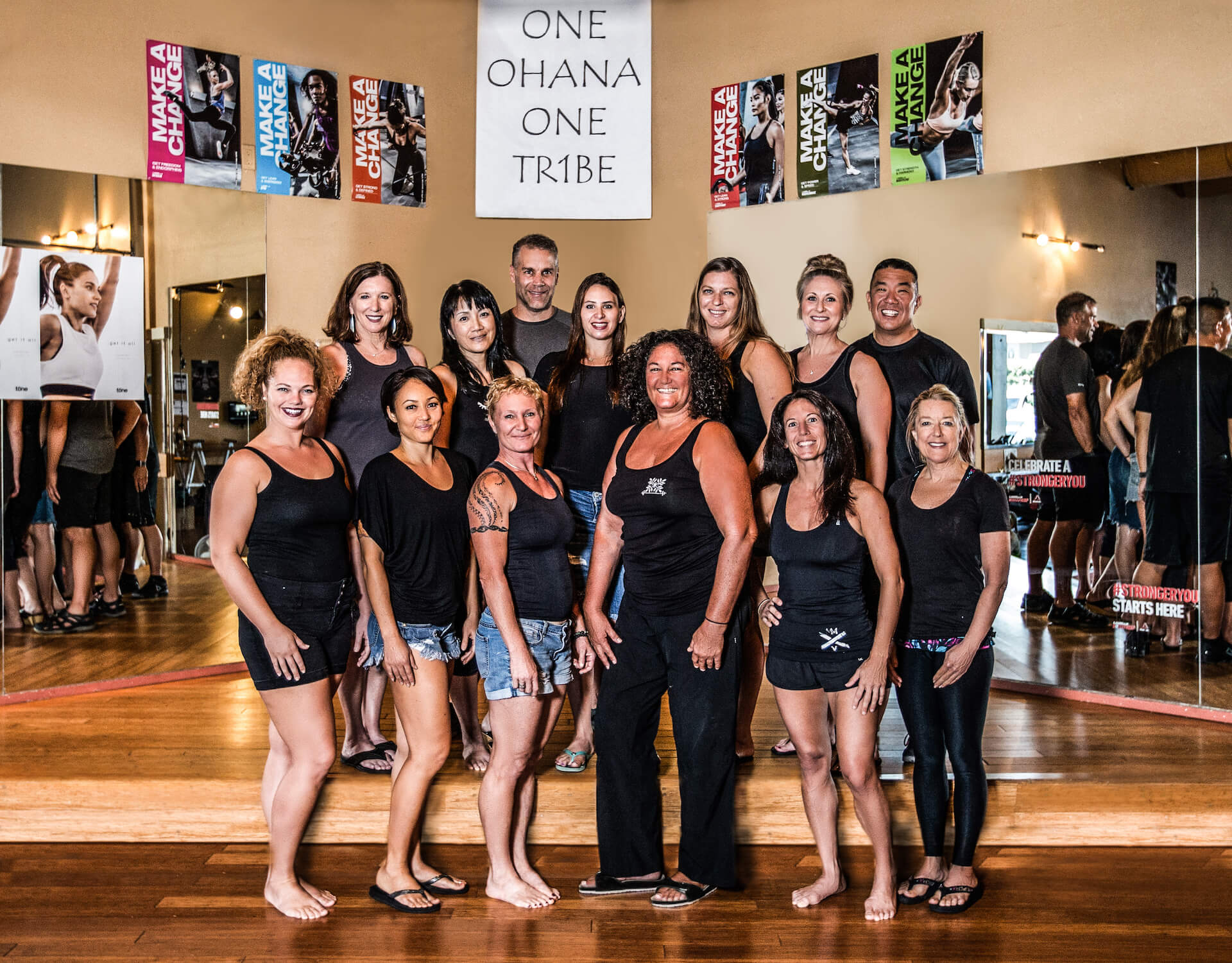 The Club Kona Group Fitness Instructors